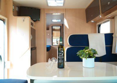 Wohnmobil XGO Dynamic 95 G - Fahrzeuginnenraum